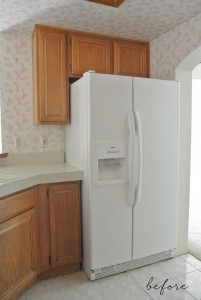 WASTEFUL SPACE OVER REFRIGERATOR